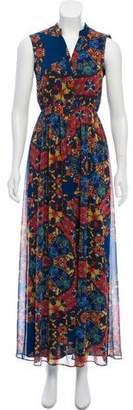 Alice + Olivia Printed Maxi Dress