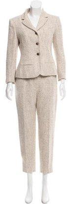 Chanel Tweed Straight-Leg Pantsuit $700 thestylecure.com
