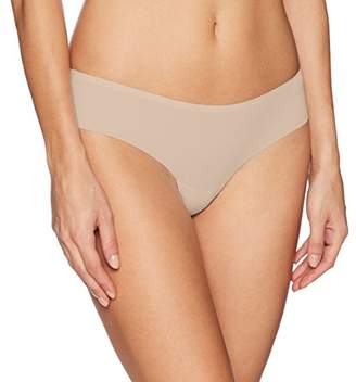 GUESS Women's Lace Back Thong Panties,L
