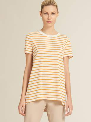 DKNY Striped Crew Neck Tee