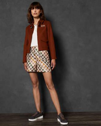 Ted Baker ININEA Boxy cotton jacket