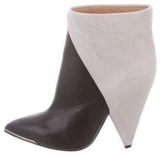 IRO Leather Pointed-Toe Boots w/ Tags