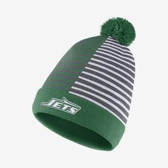 Nike NFL Jets) Beanie