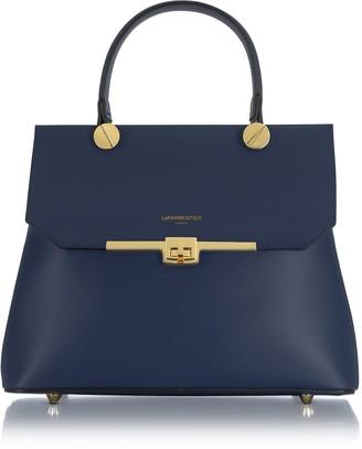 Le Parmentier Atlanta Top Handle Satchel Bag w/Shoulder Strap