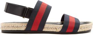 Gucci Web-stripe sandals