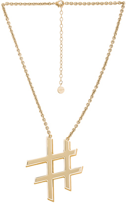 Lanvin Icon Necklace $575 thestylecure.com