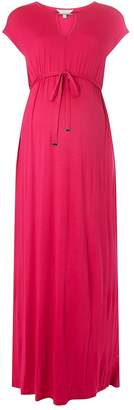 Dorothy Perkins Womens **Maternity Pink Jersey Maxi Dress
