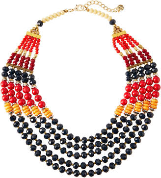 Nakamol Mixed Multi-Strand Beaded Necklace