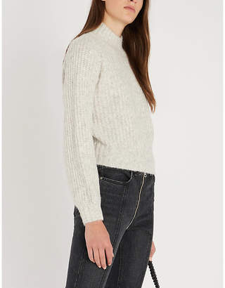 The Kooples Blouson-sleeve wool jumper