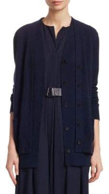 Akris Double Layer Cardigan