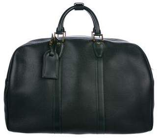 Louis Vuitton Leather Keepall 55