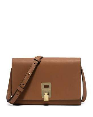 Michael Kors Miranda Medium Wallet-on-a-Strap, Luggage $490 thestylecure.com