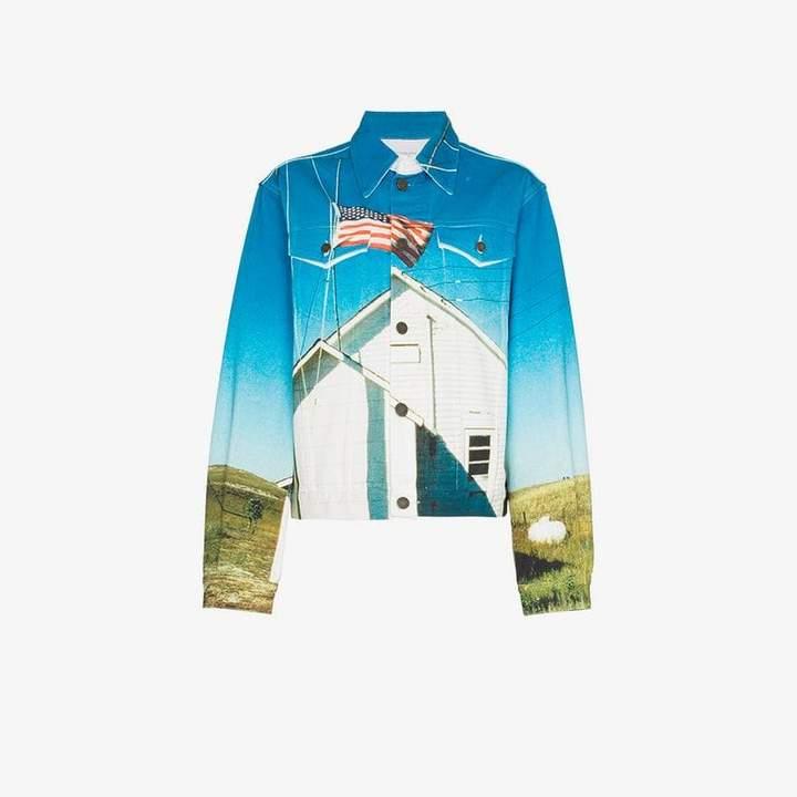 Est. 1978 printed denim jacket