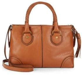 Cole Haan Leather Saddle Satchel