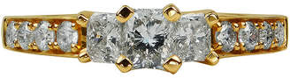 FINE JEWELRY LIMITED QUANTITIES 1 1/2 CT. T.W. Diamond 14K Yellow Gold 3-Stone Ring