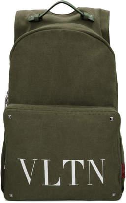 Valentino Green Garavani VLTN Backpack