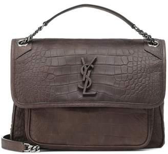 Saint Laurent Medium Niki Chain leather shoulder bag