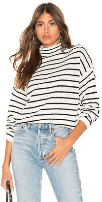 Line & Dot Striped Sweater