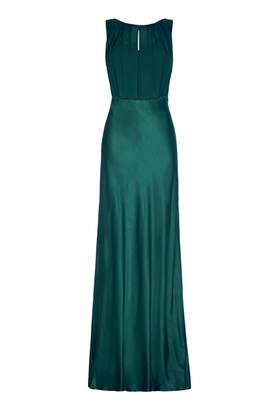 Ghost Claudia Dress Emerald Sea