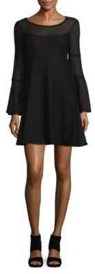 Nanette Lepore Blow Away Bell Sleeve Shift Dress