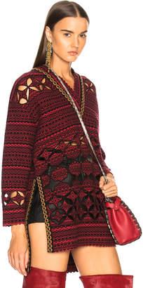 Fendi Cut Out Detail Sweater