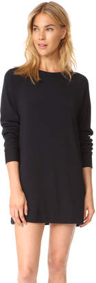 Enza Costa Brushed Fleece Dress