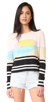 Wildfox Harbour Sunset Sweater $150 thestylecure.com