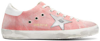 Golden Goose Red Drill Superstar Sneakers