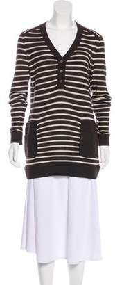 Tory Burch Knit V-Neck Sweater