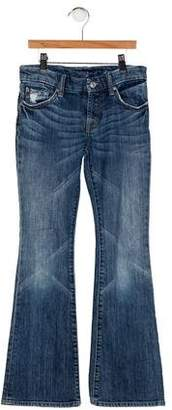 7 For All Mankind Girls' Five Pockets Flared Jeans