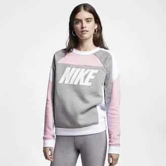Nike Sportswear Women's Fleece Color-Block Crew