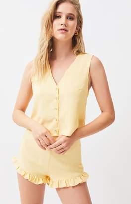 Lucca Couture Ali Button Front Vest