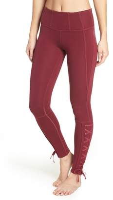 Free People FP Movement Pixi Lace-Up Leggings