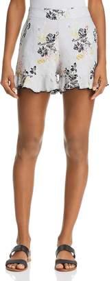 Karina Grimaldi Jonas Floral-Print Shorts