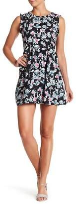 Olive + Oak Olive & Oak Floral Print Babydoll Dress