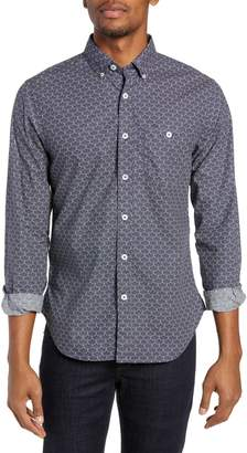 Todd Snyder Liberty Patterned Regular Fit Sport Shirt