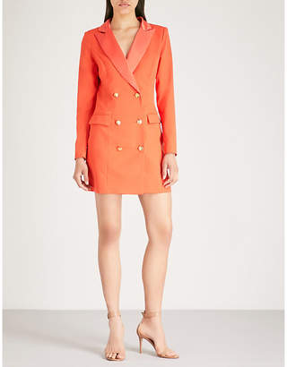 Missguided Tailored-fit double-breasted blazer
