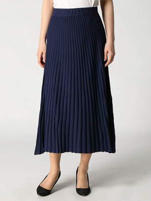 Lugnoncure (ルノンキュール) - Lugnoncure Lugnoncure/ワイドリブニットスカート テチチ スカート