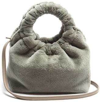 The Row - Double Circle Small Mink Bag - Womens - Grey
