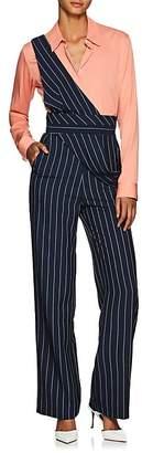 Teija Women's Pinstriped Wide-Leg Jumpsuit