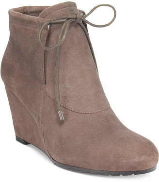 Easy Spirit Caterina Wedge Booties $110 thestylecure.com