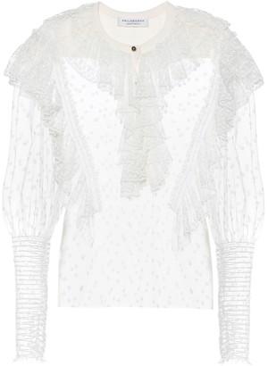 Philosophy di Lorenzo Serafini Cotton-blend lace blouse