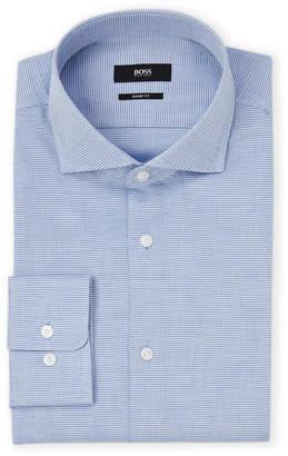 HUGO BOSS Light Pastel Blue Sharp Fit Dress Shirt