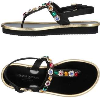 Alberto Guardiani Toe strap sandals - Item 11426369GU