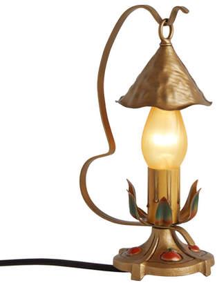 Rejuvenation Petite Candle Boudoir Lamp w/ Apple Motif