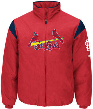 Majestic Men St. Louis Cardinals On-Field Thermal Jacket