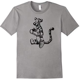 Disney Winnie the Pooh Tigger Sketch T-Shirt