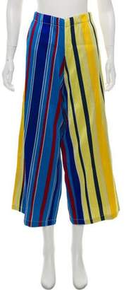 Collection Privée? Multi-Stripe Wide Leg Pants w/ Tags