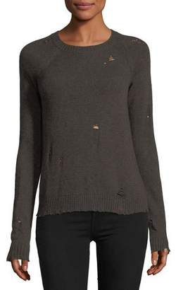 Bailey 44 Cinderella Long-Sleeve Distressed Pullover Sweater