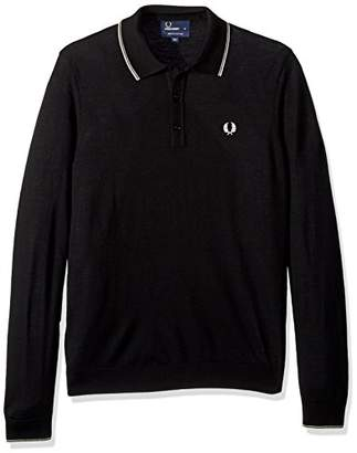 Fred Perry Men's Fine Merino Knitted Shirt